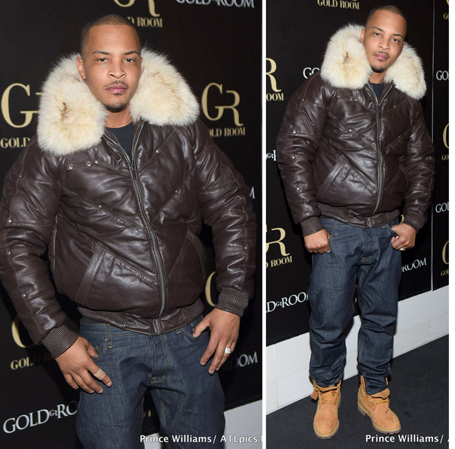 T.I. Hosts Troup Tribute Party