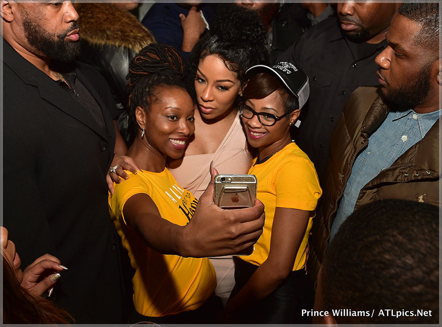 K. Michelle screening party at M Bar