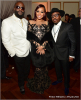 Rick Ross, Monica Brown and Anthony Hamilton