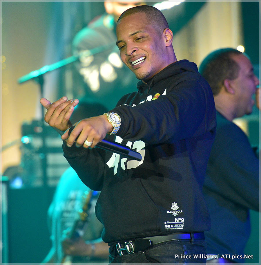 TI TIDAL Pop Up Concert
