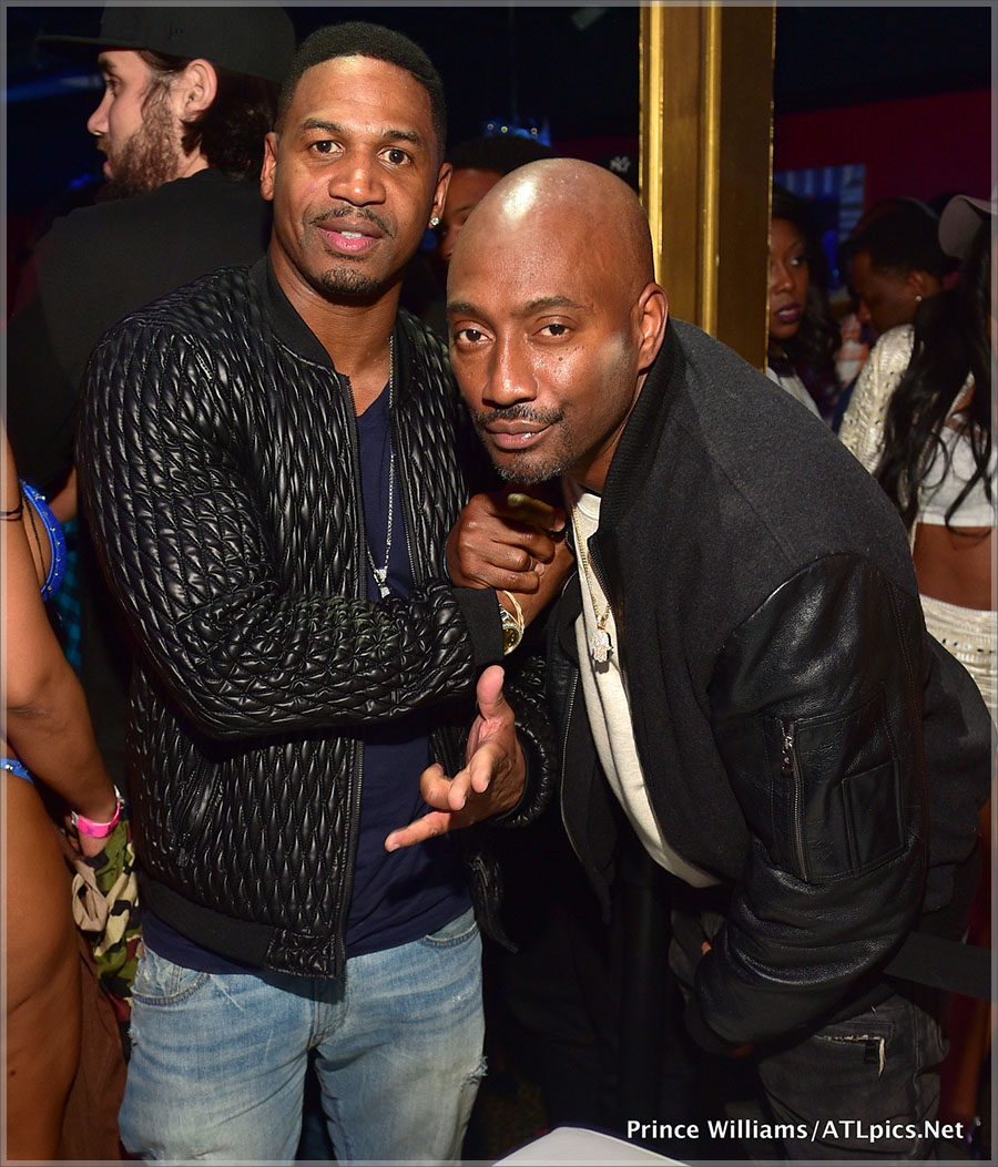 Stevie J and Clay Evans