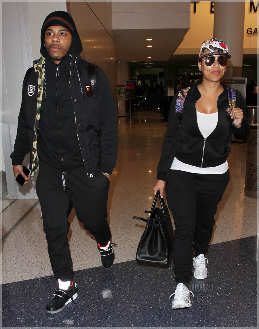 Nelly and Shantel Jackson