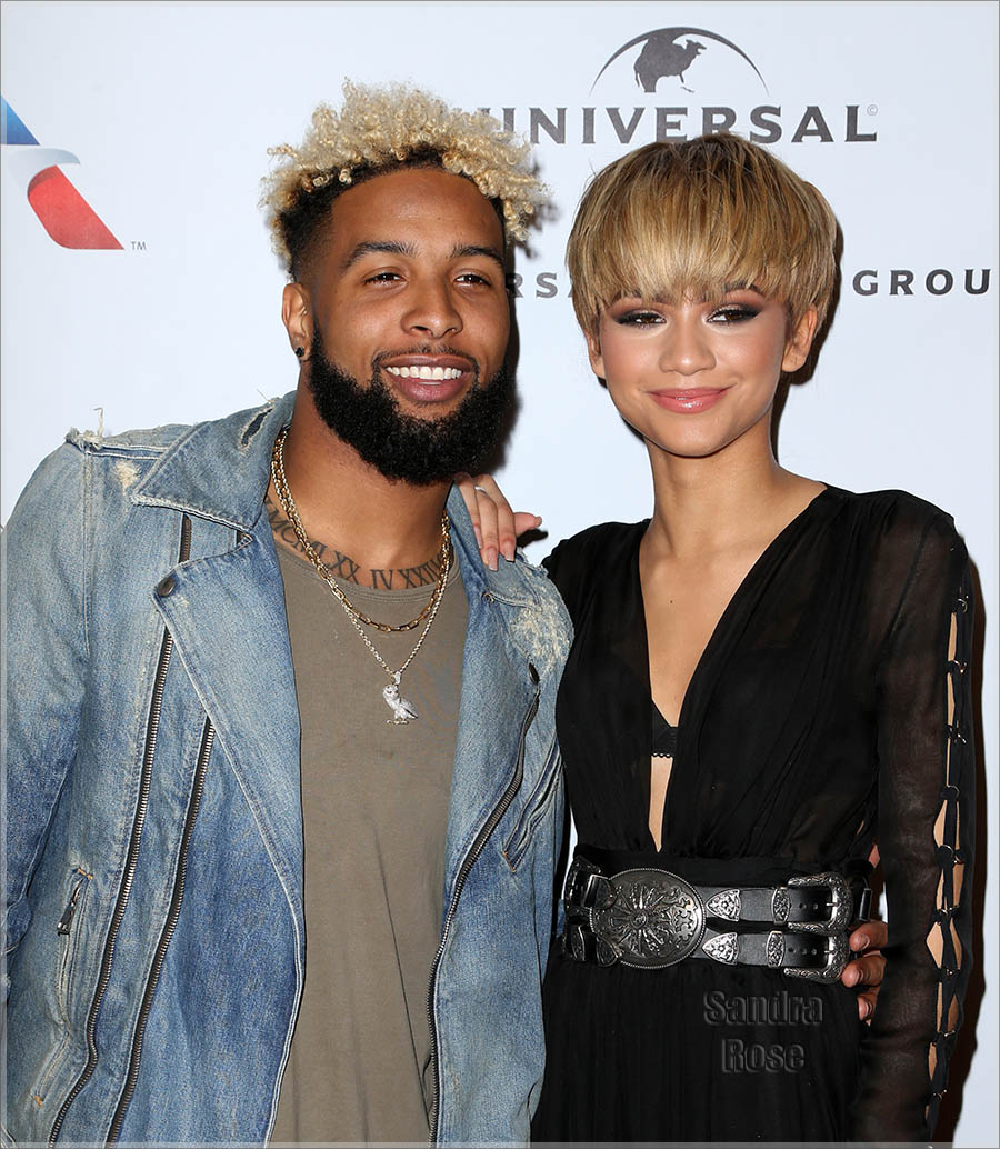 Zendaya Coleman and Odell Beckham Jr