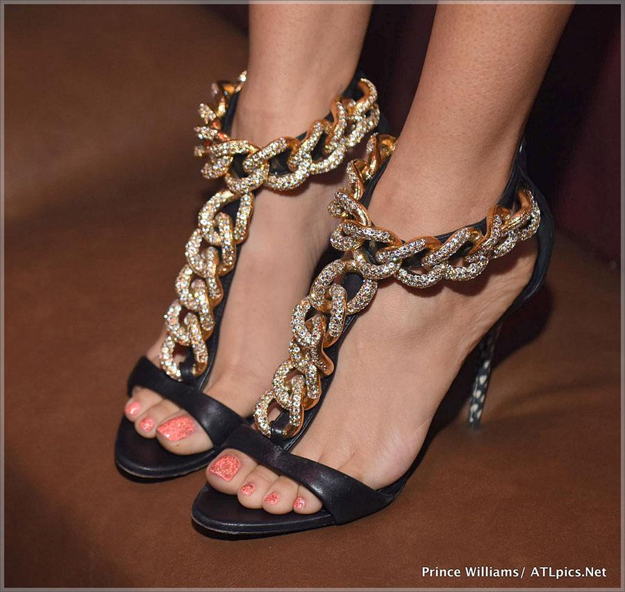 Keyshia Cole shoe detail