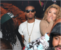 Keyshia Cole and Shad Moss