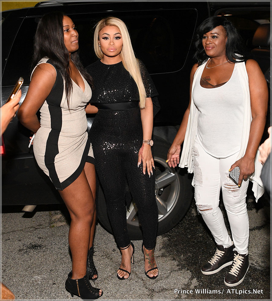 Blac Chyna and her fans