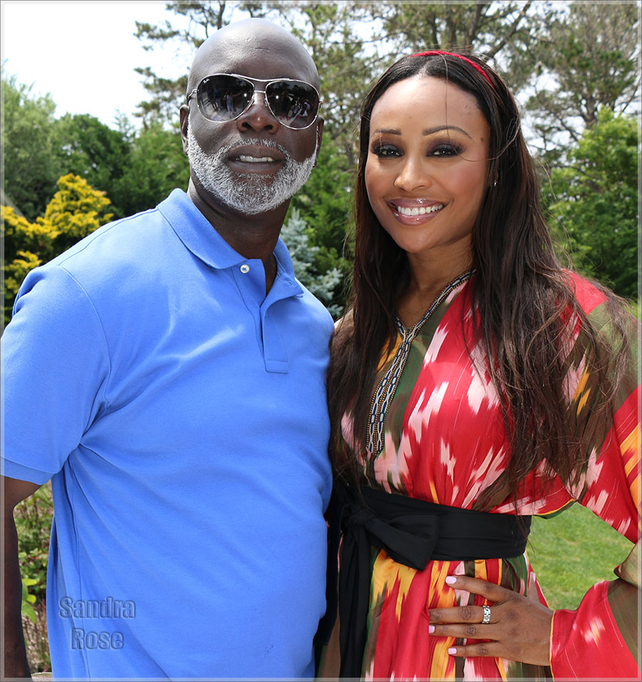 Peter Thomas and Cynthia Bailey