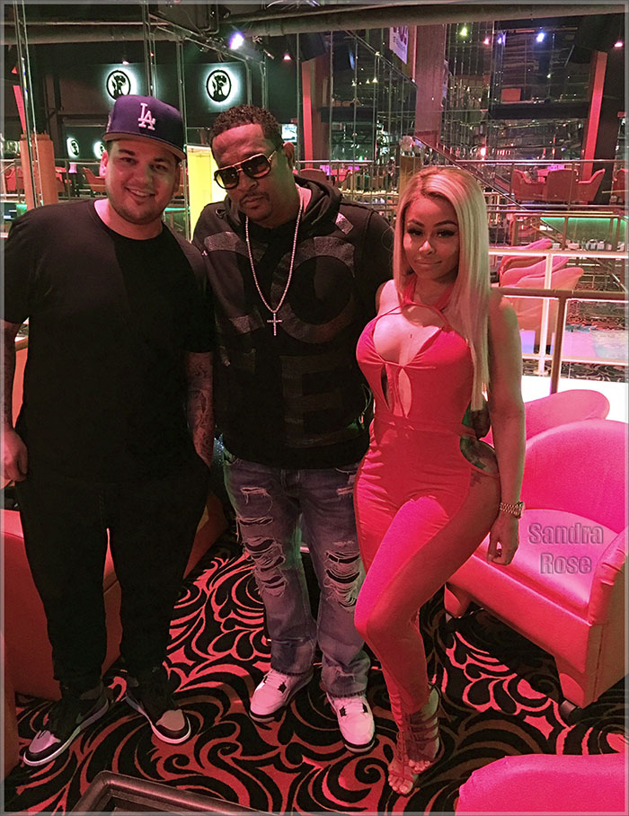 Rob Basement Pat and Blac Chyna at Crazy Horse