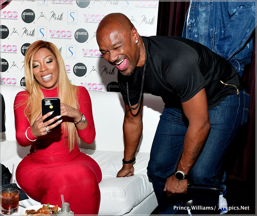 K Michelle and Big Tigger