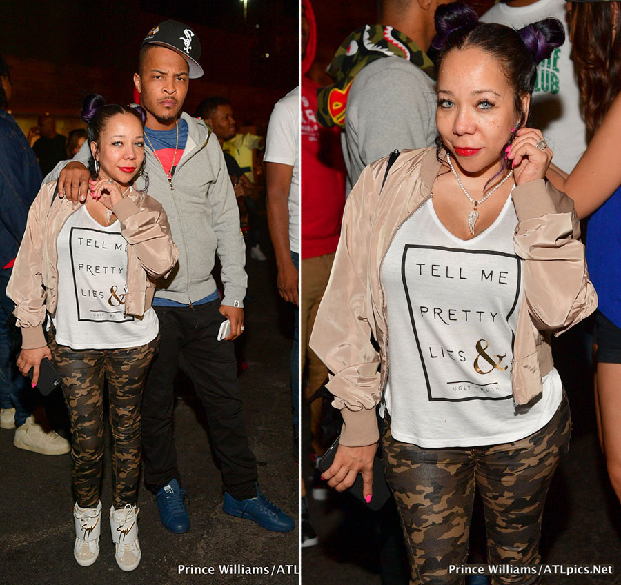 TI and Tiny at DJ Aoki Block Party