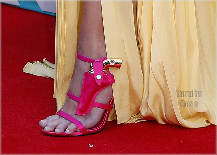 Miranda Lambert and Anderson gun holster shoe