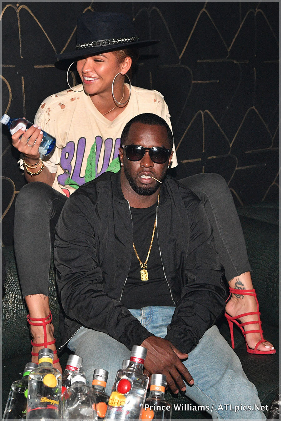 Sean Combs Hosts Formation Tour After Party at XS Lounge