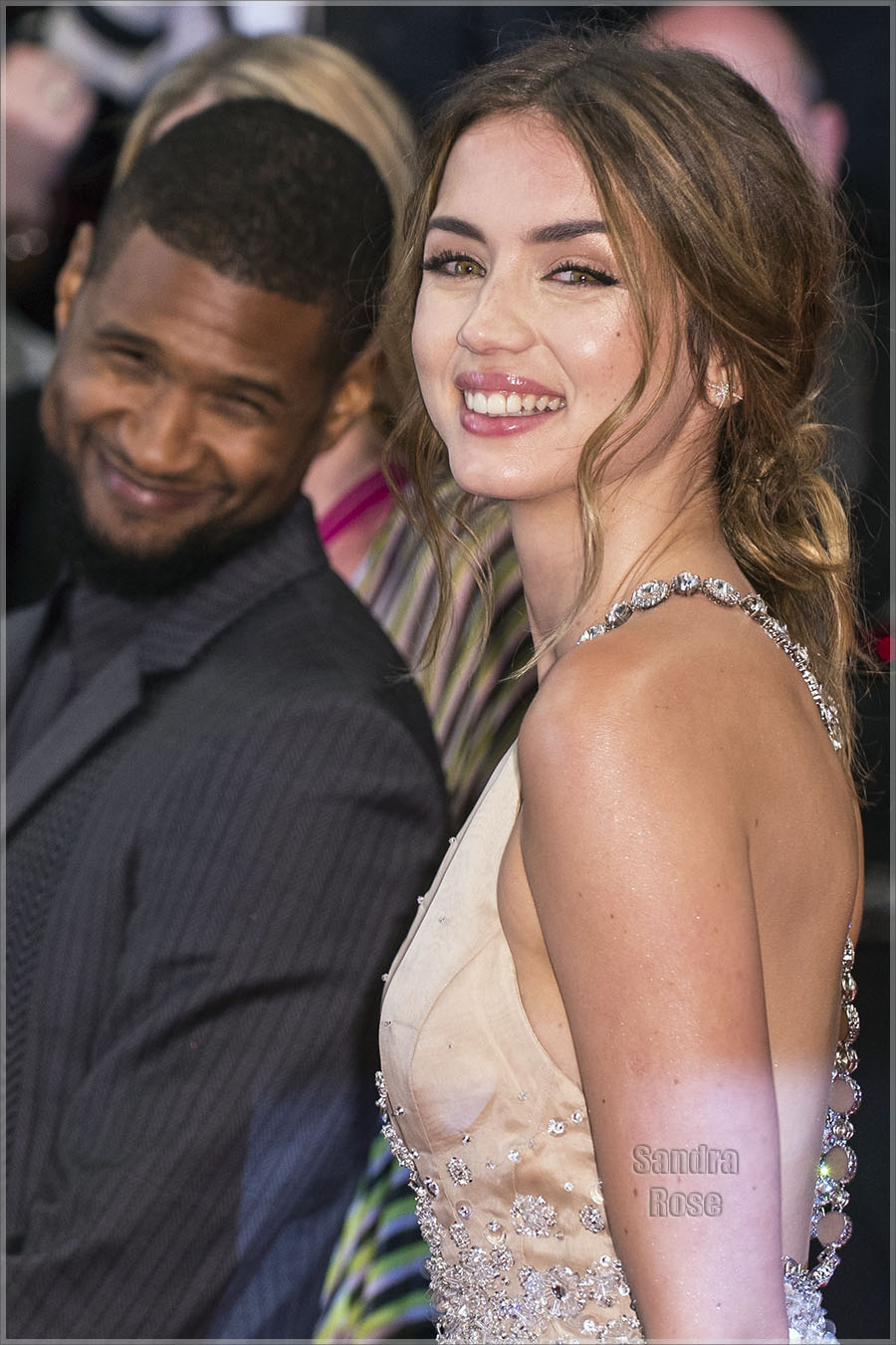Usher and Ana de Armas at 69th Cannes Film Festival
