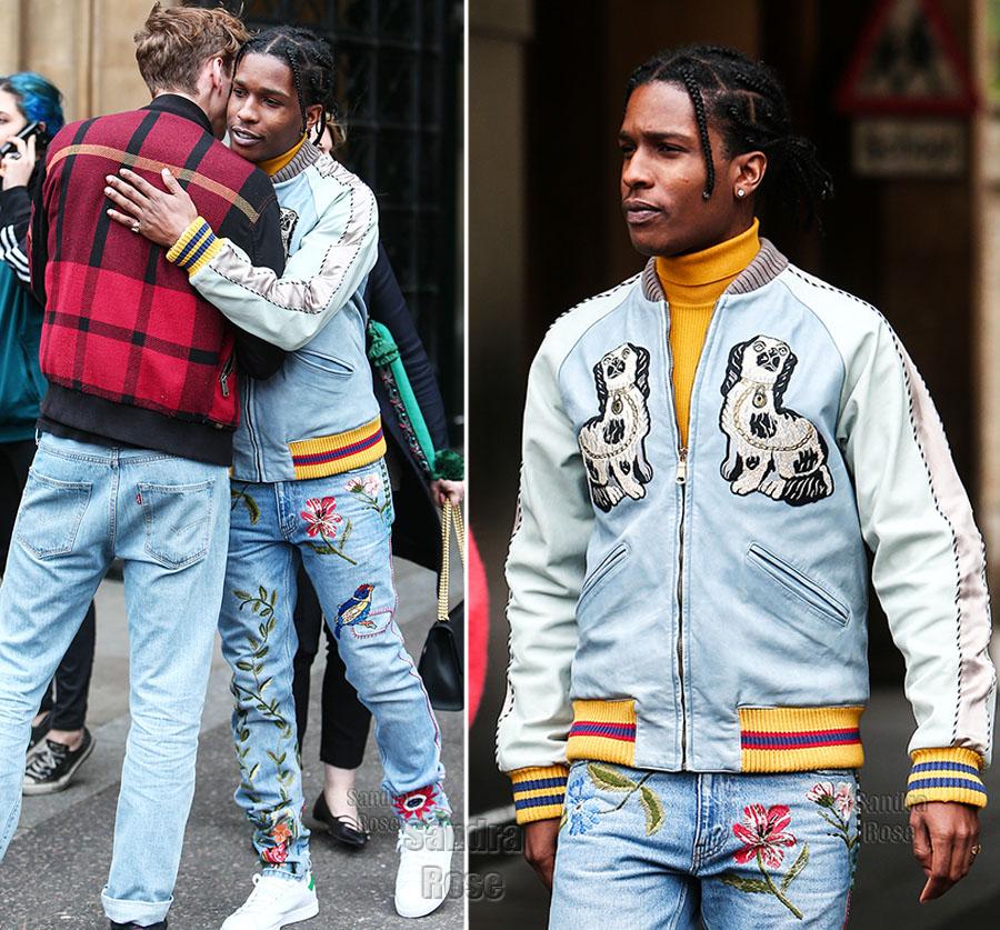 ASAP Rocky in London
