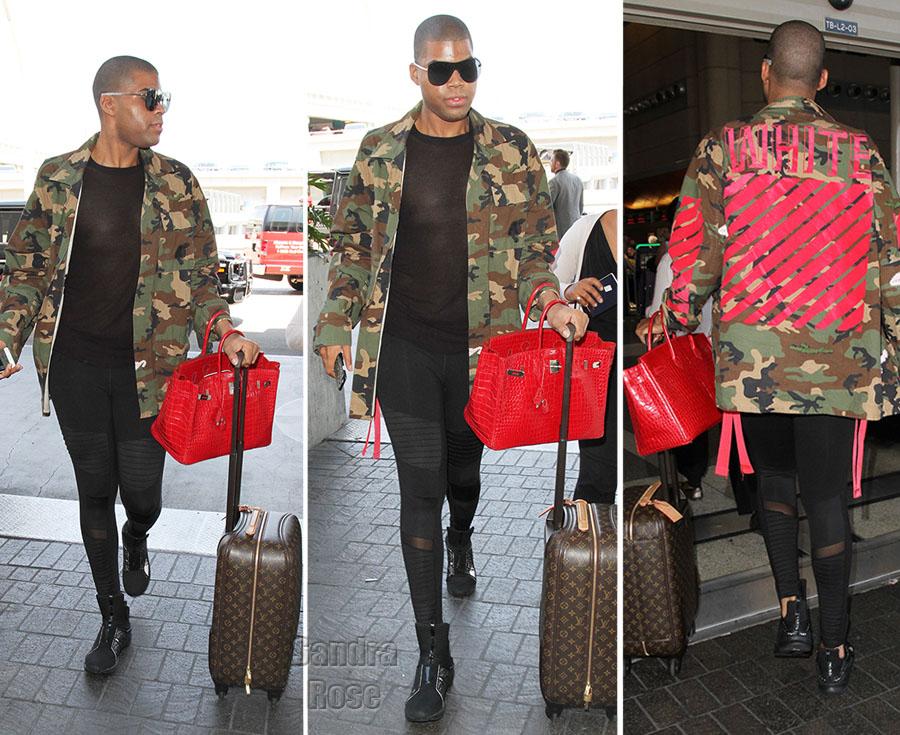 EJ Johnson celebrity style
