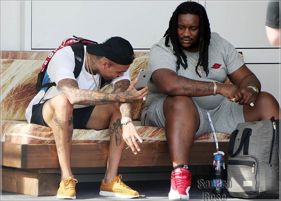 Chris Brown in Croatia
