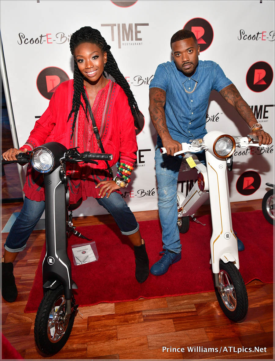 Ray J and Brandy