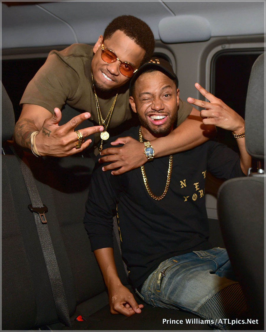 Mack Wilds and Terrence J
