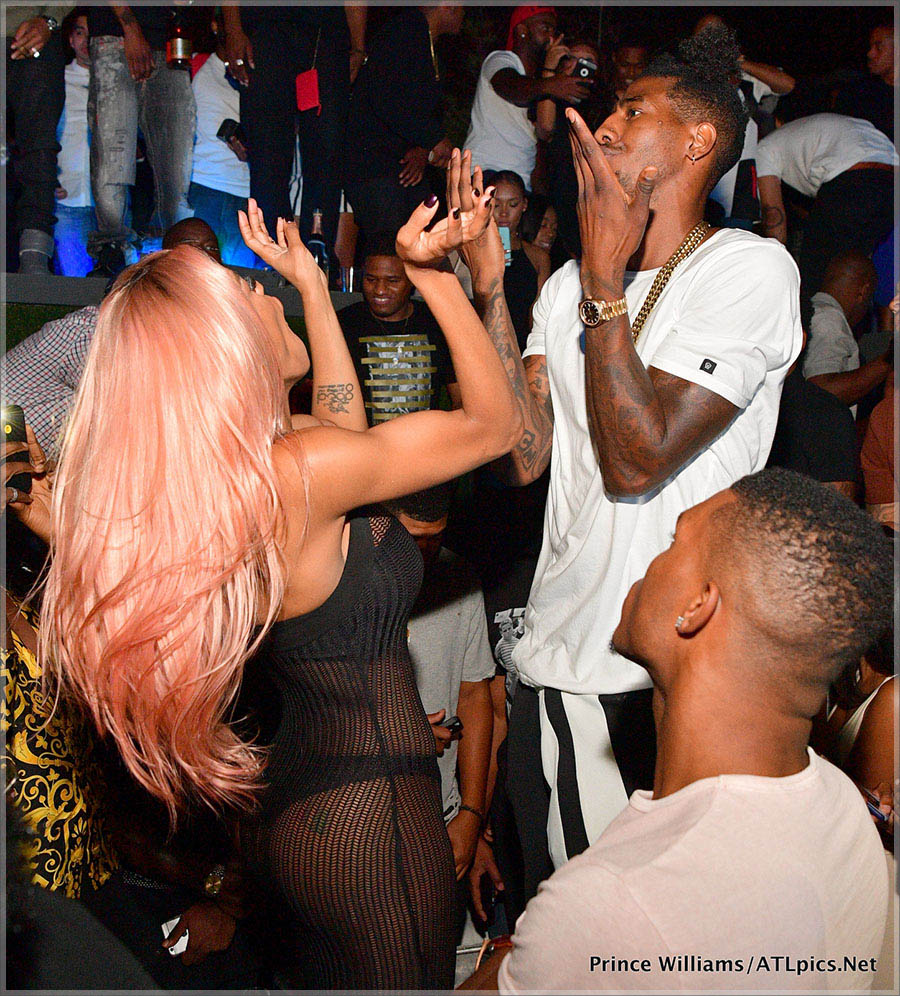 Teyana and Iman Shumpert at Compound