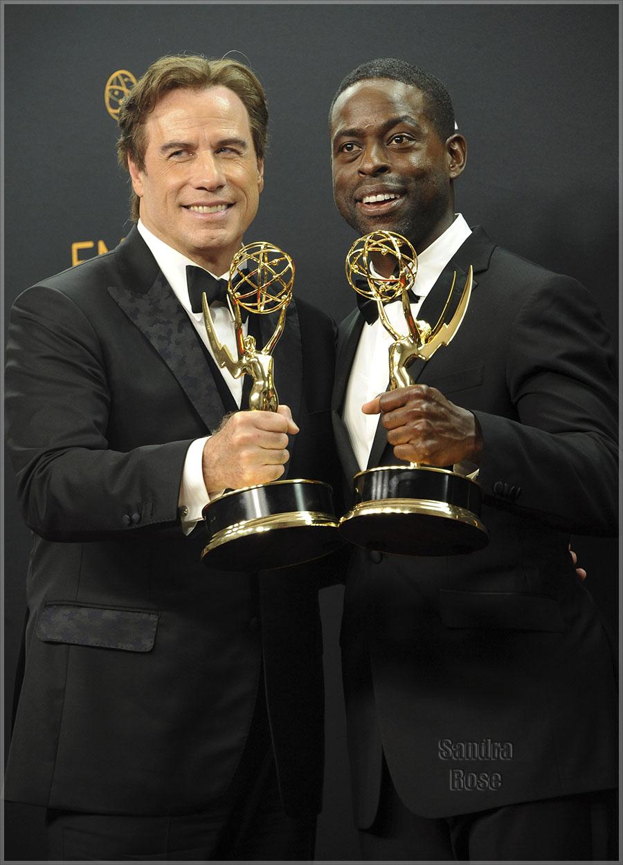 John Travolta, Sterling K. Brown