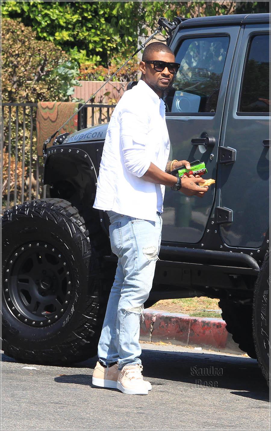 Usher Raymond | Sandra Rose