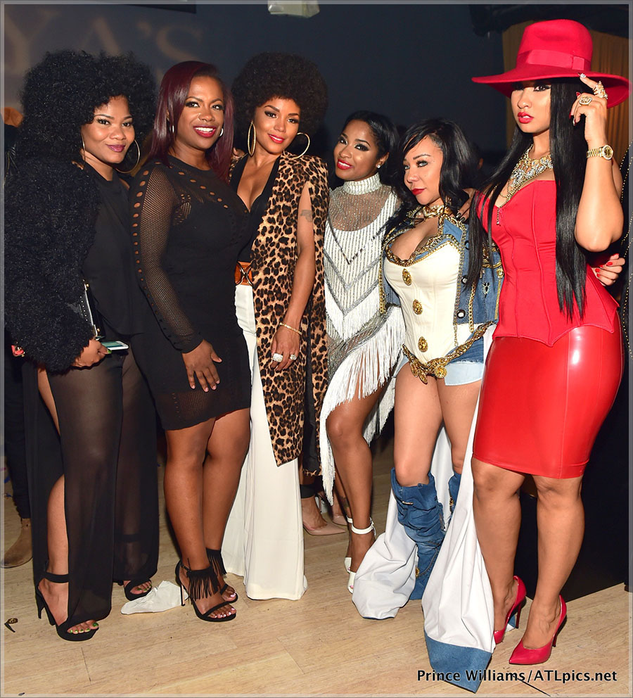 Toya Wright's Player's Ball Birthday Party