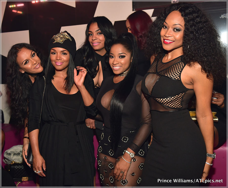 Toya Wright & Mr Ruggs All Black Affair at Gold Room