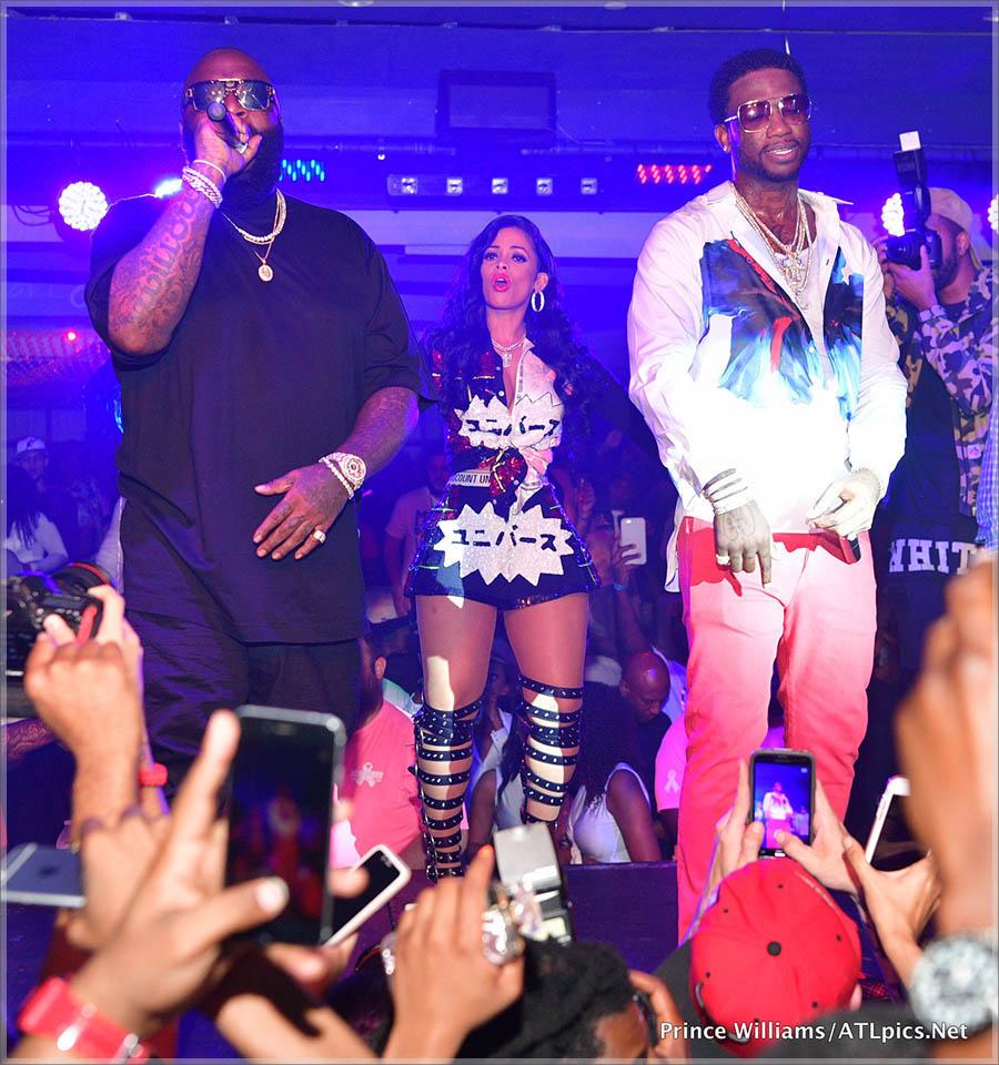 Gucci Mane and Rick Ross at Club Iguana