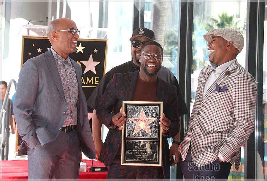 Walk of Fame star ceremony for Kevin Hart