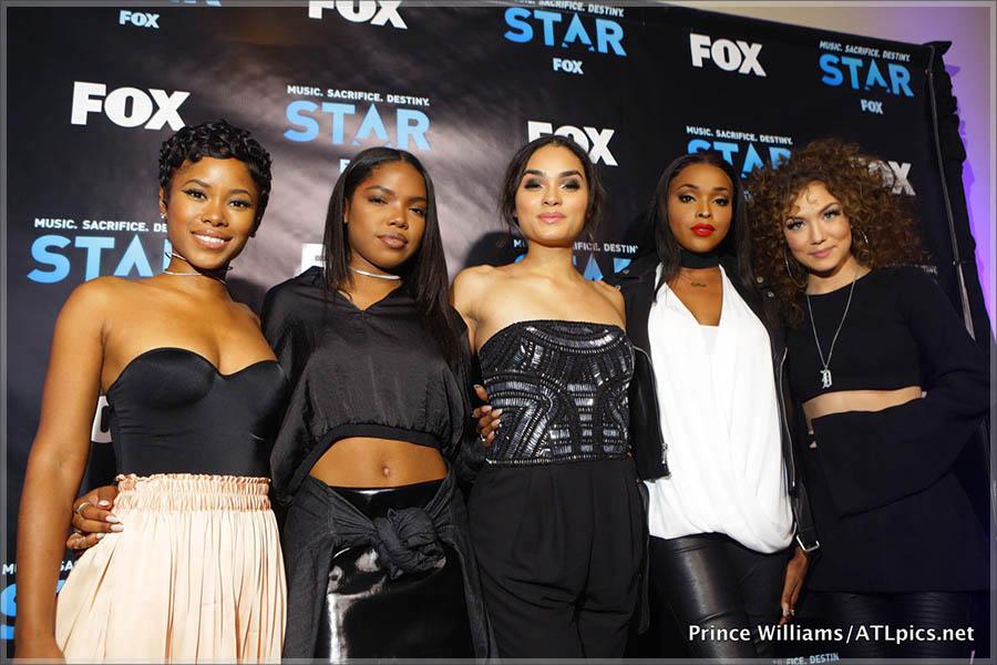 Jasmine Burke, cast of STAR