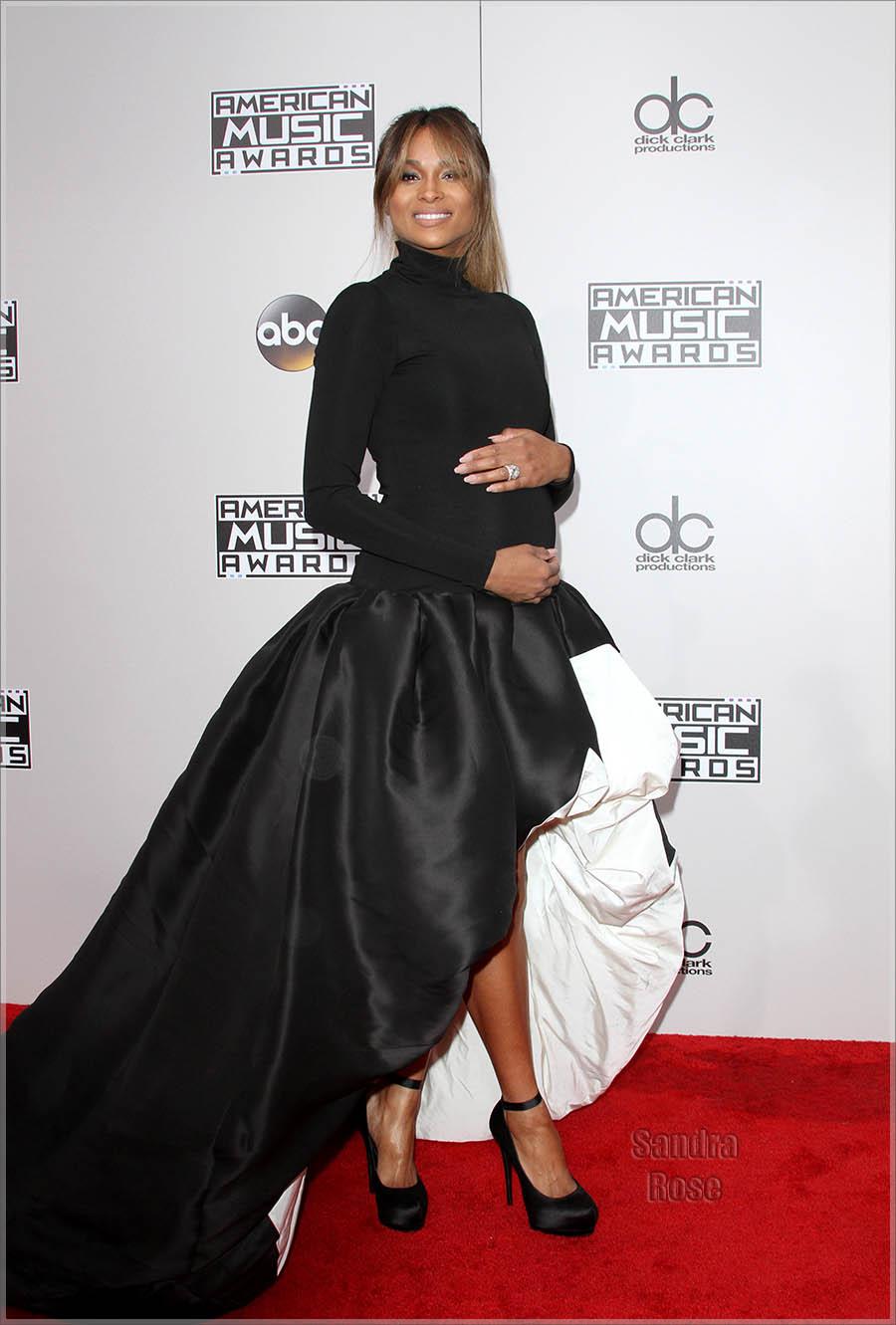 Ciara at American Music Awards 2016