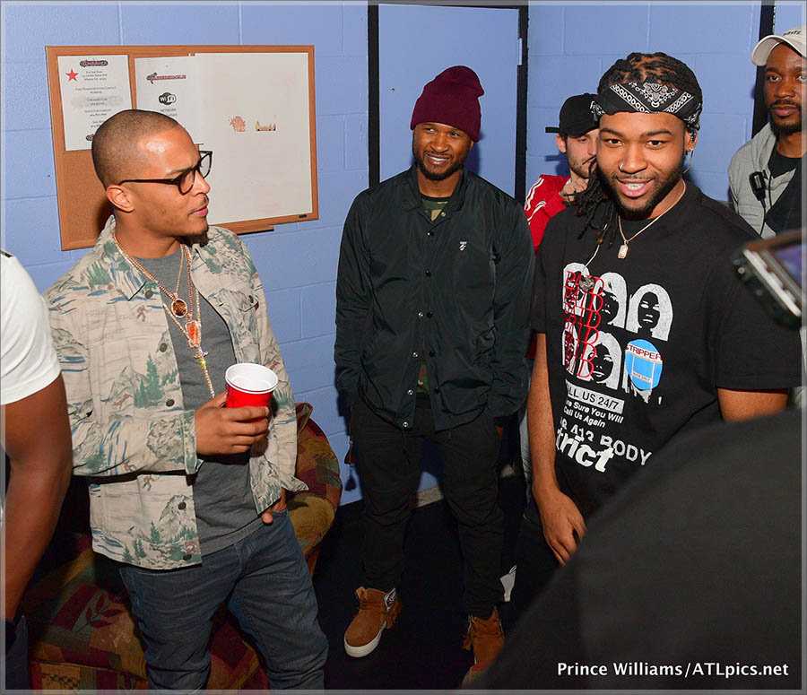 T.I., Usher, Party Next Door