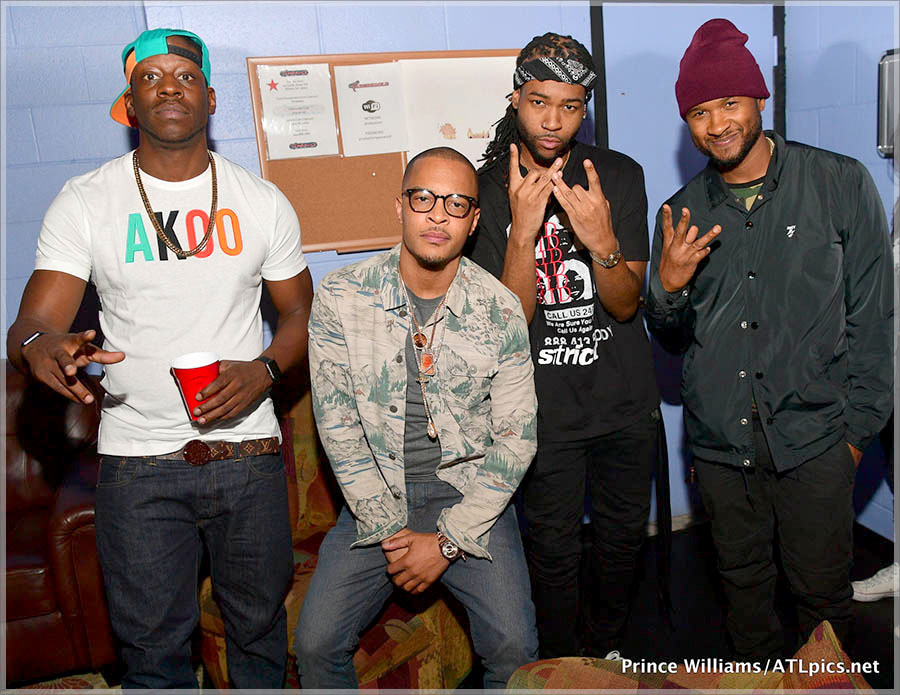 Dro, T.I. Harris, Party Next Door, Usher Raymond