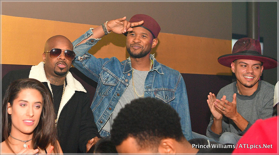 Usher Raymond, Jermaine Dupri, Evan Ross