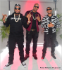 DJ Infamous, Jeezy, Ludacris on set