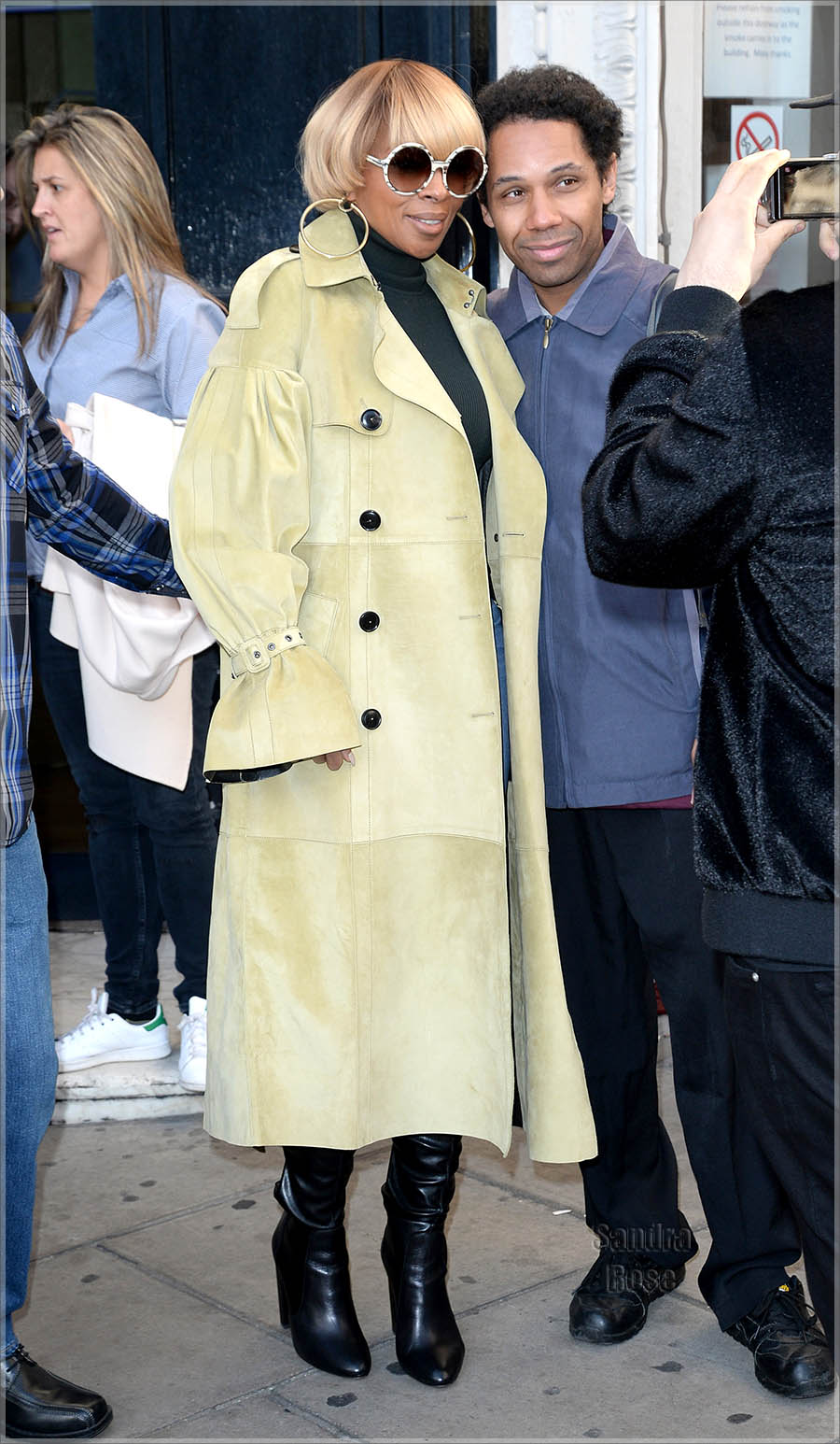Mary J Blige in London