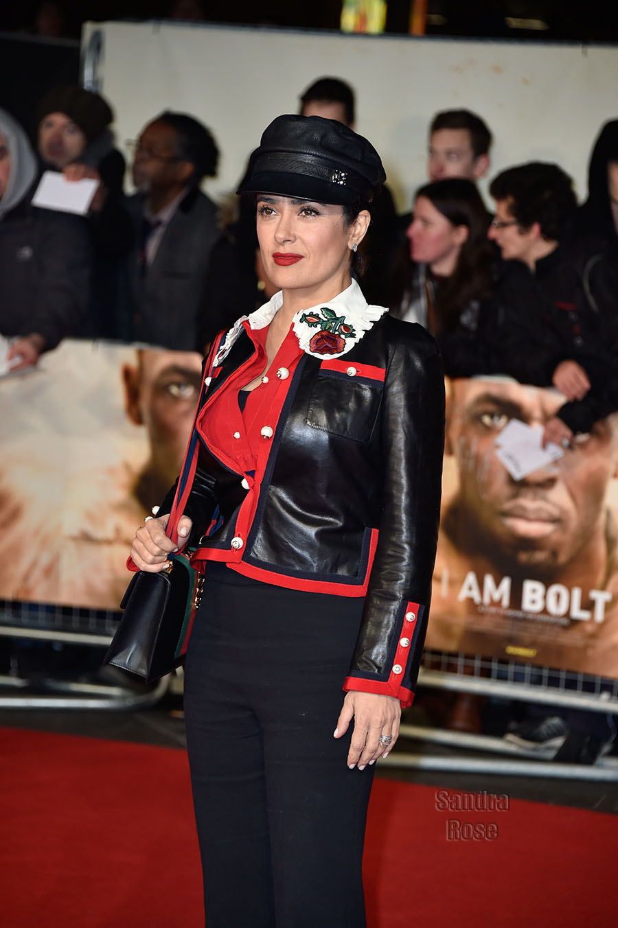 Selma Hayek at I am Bolt World Premiere