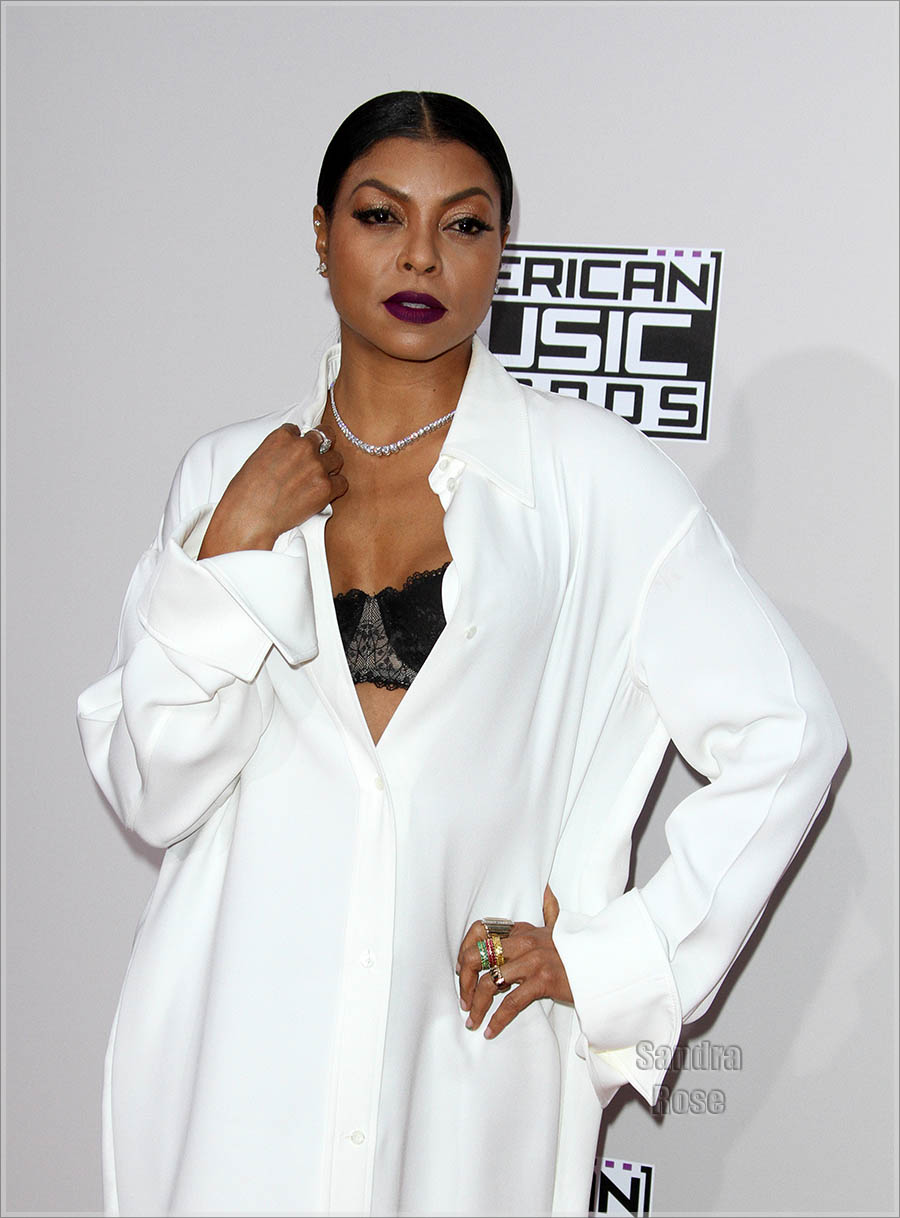 Taraji P Henson at American Music Awards