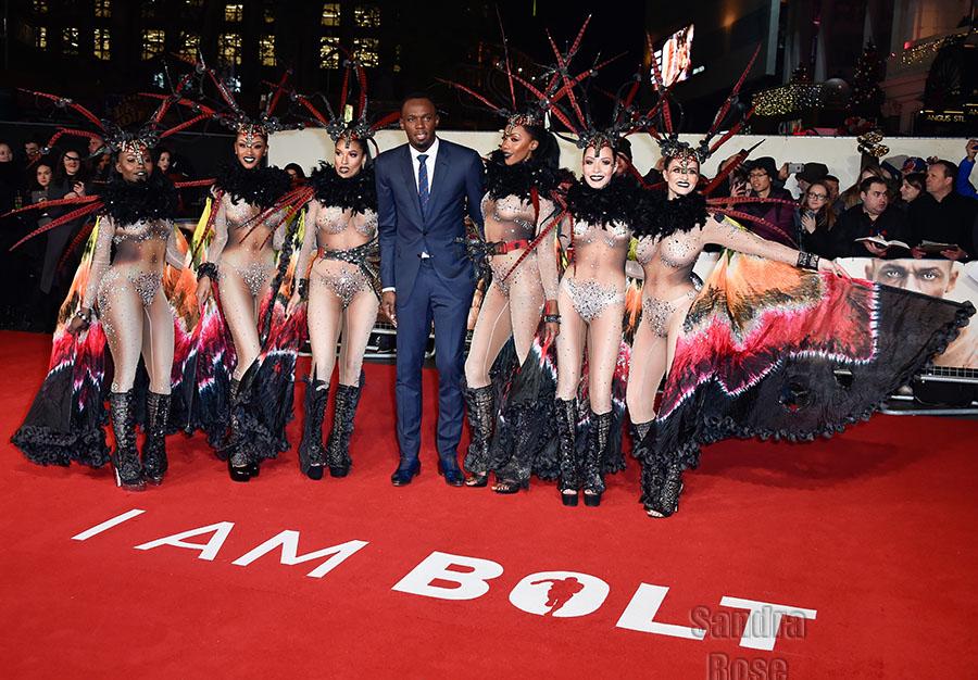 Usain Bolt at I am Bolt World Premiere