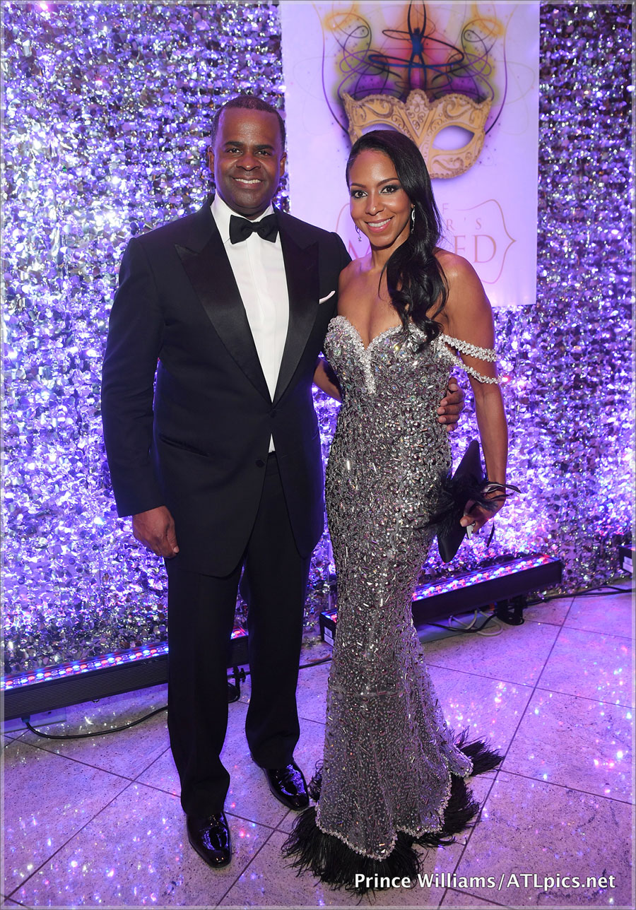 Mr and Mrs Kasim Reed