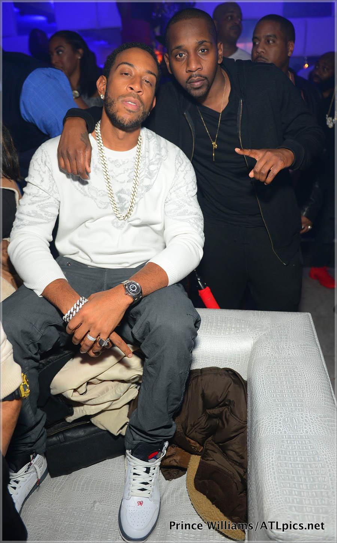 Ludacris, Mr. Ruggs at SL Lounge in Atlanta
