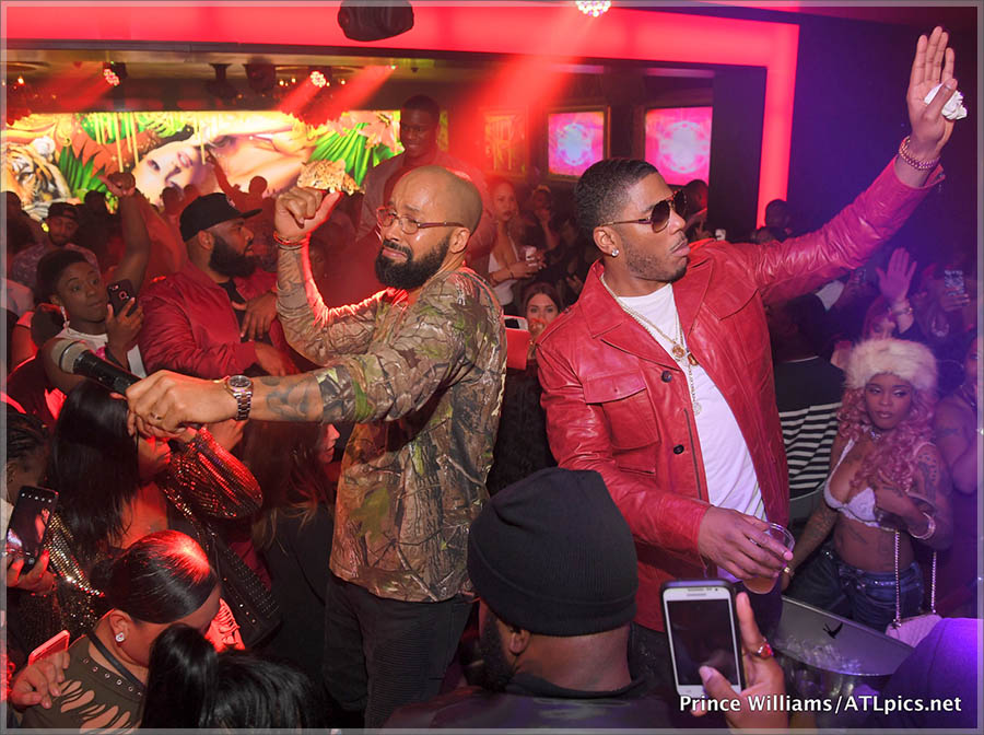 Nelly & Kenny Burns Host Compound Saturdays