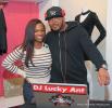Kandi Burruss, DJ Lucky Ant