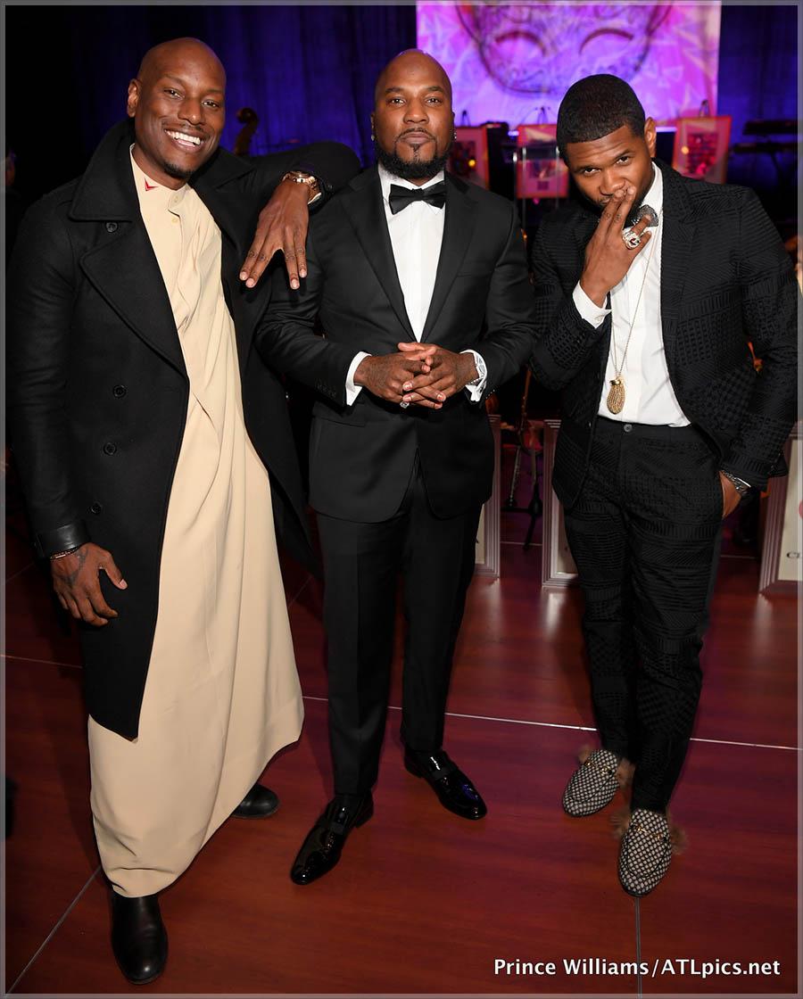 Tyrese, Jeezy, Usher