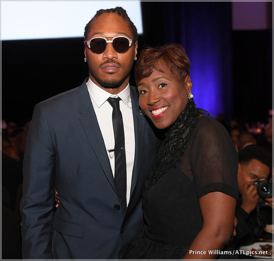 Future and his mother Stephanie Jester
