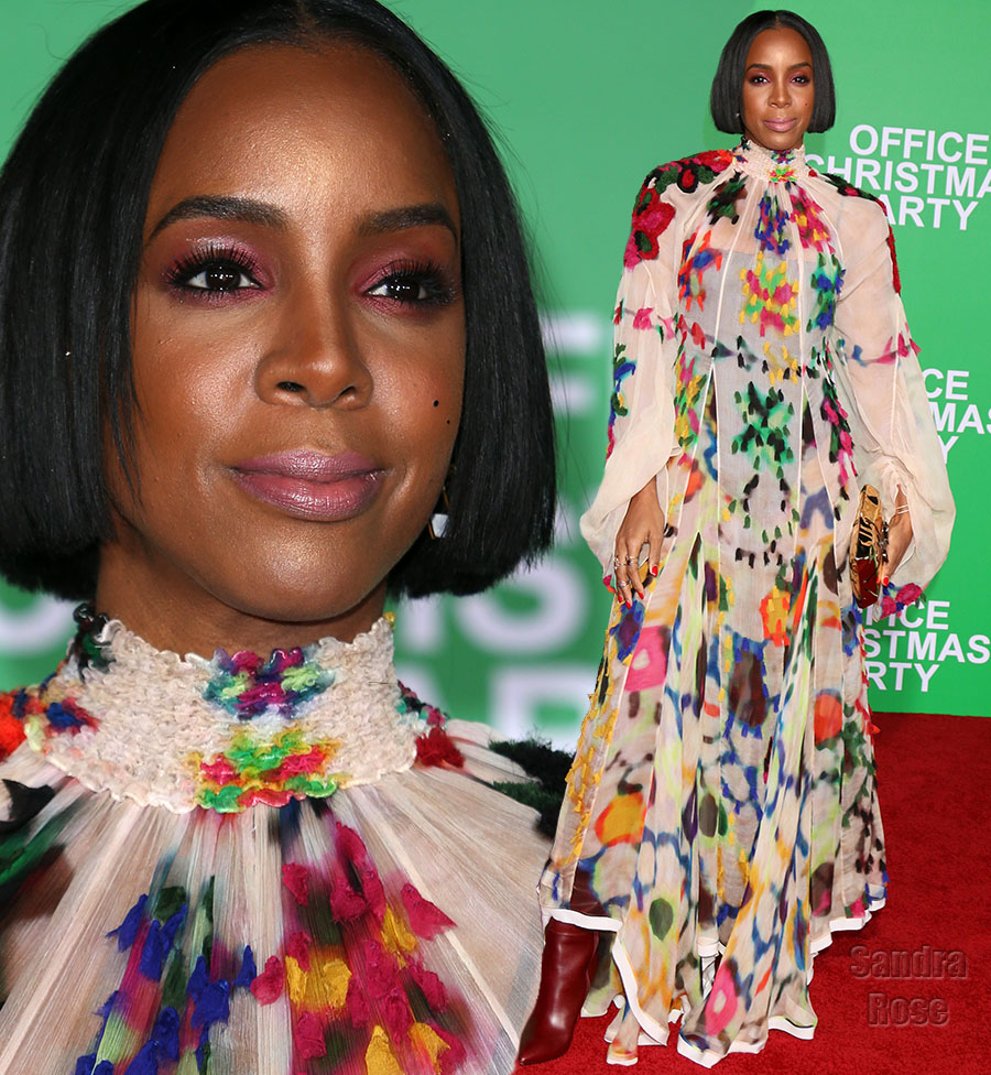 Kelly Rowland in L.A.