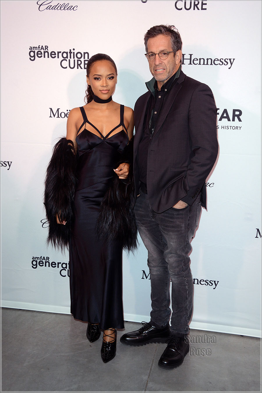 Serayah, Kenneth Cole in NYC