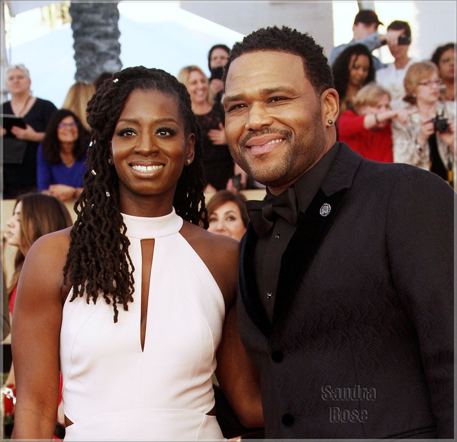 Anthony Anderson and wife Alvina Stewart