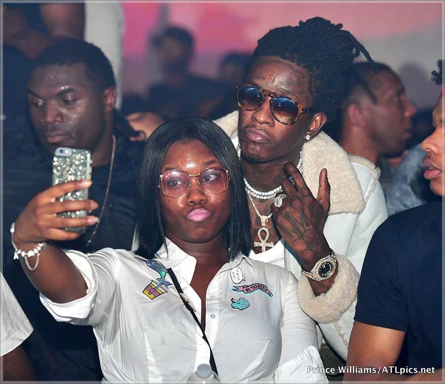 Young Thug at Libra Lounge