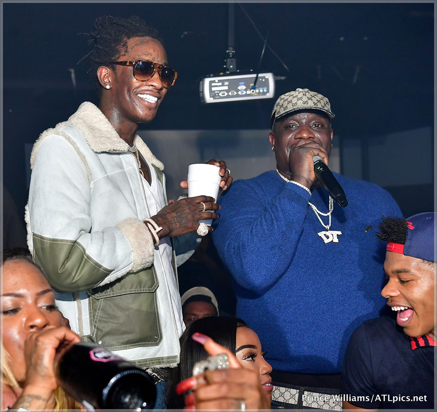 Young Thug & Big Bank Black at Libra Lounge